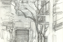 "68th and Lexington, 5 x 3.5"", Graphite"