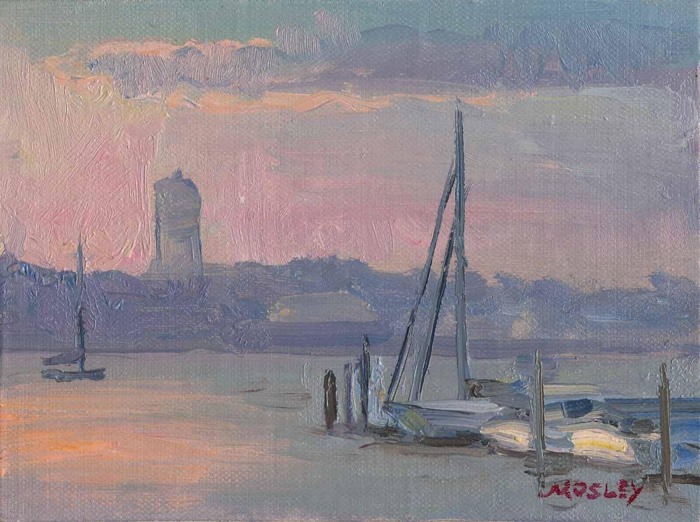 Boat Basin Sunset