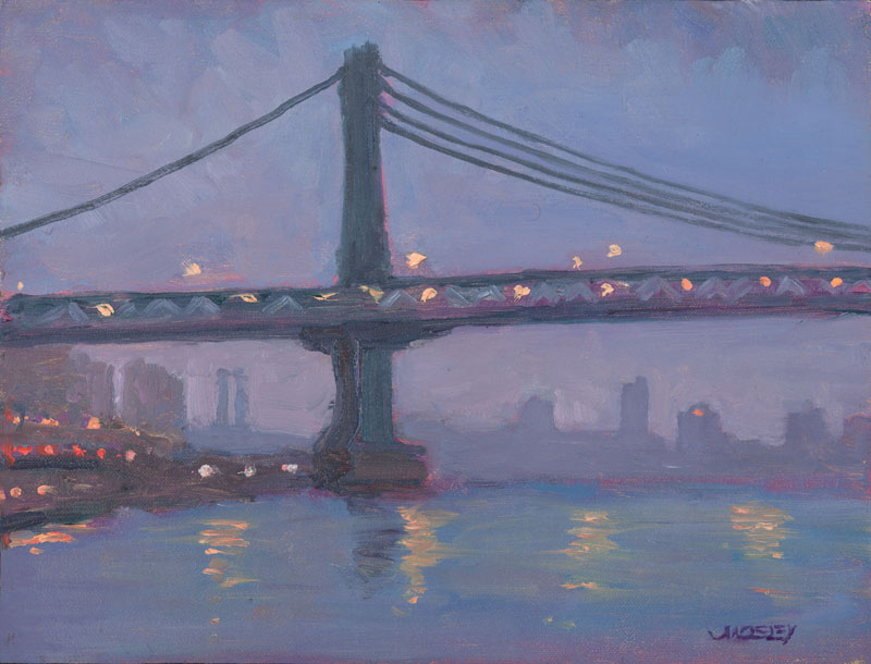 Manhattan Bridge at Dawn, 2013