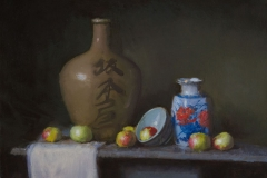 Chinese Vase, 18x24, Oil on Linen, Exhibited ArtBombNY, 2014