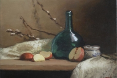 Green Bottle, Red Apples