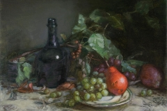 red_pear_grapes_bottle