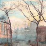 allen st winter 150x150 - Watercolor Landscapes