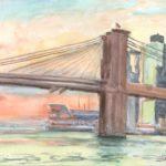 Brooklyn Bridge, September, 2011