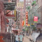 chinatown pell st 150x150 - Watercolor Landscapes