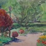 conservancy garden spring 150x150 - Watercolor Landscapes