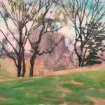 drip rock spring 2014 150x150 - Watercolor Landscapes