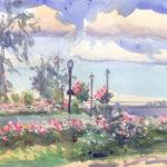 east river park 8 8 14 150x150 - Watercolor Landscapes