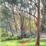 eucalyptus 150x150 - Watercolor Landscapes