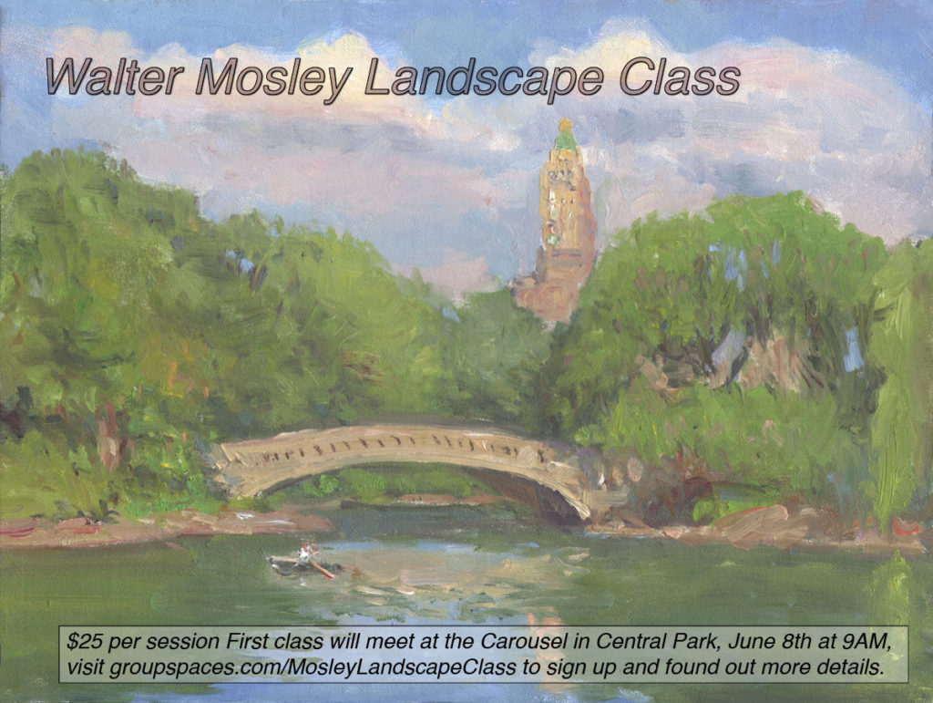 Walter Mosley Landscape Class