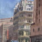 gilsey house 150x150 - Watercolor Landscapes