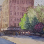 hester street playground 150x150 - Watercolor Landscapes