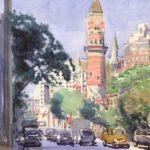 jefferson library 150x150 - Watercolor Landscapes