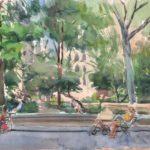 madison sq pk 6 11 150x150 - Watercolor Landscapes