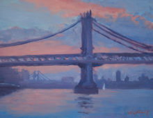 Manhattan Bridge at Dawn, September 2012