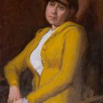 Maria, Brown Hat