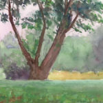 riverhouse tree 150x150 - Watercolor Landscapes