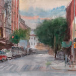 Rivington and Chrystie, Watercolor