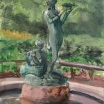 secret garden 6 14 150x150 - Watercolor Landscapes