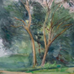 two trees central park 150x150 - Watercolor Landscapes