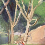 two trees central park afternoon 150x150 - Watercolor Landscapes