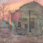 ukranian orthodox church before easter 150x150 - Watercolor Landscapes