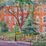 Washington Square Park, Northeast Corner