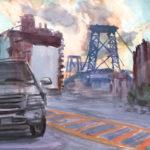 williamsburg bridge 6 8 13 150x150 - Watercolor Landscapes