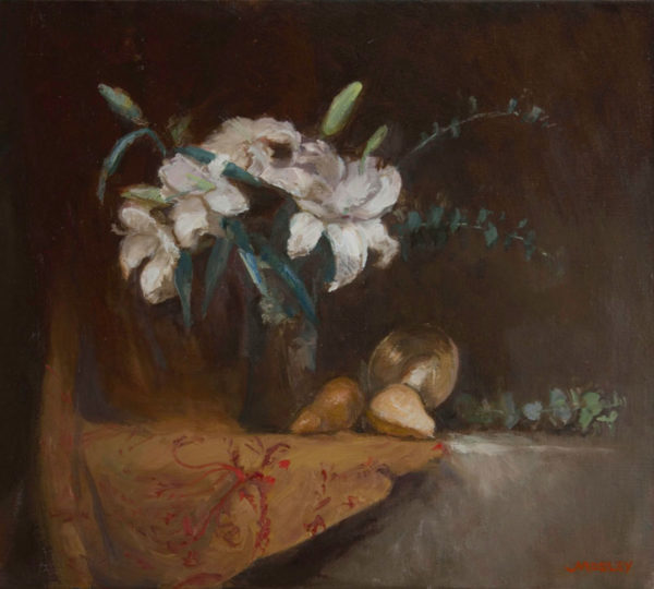 Lilies with Pears