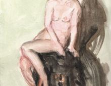 Nudes Watercolor