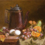 Pitcher w/Oranges & Eggs