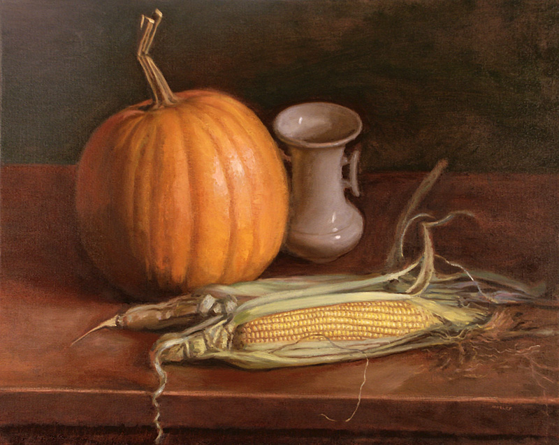 Pumpkin and Corn