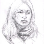 blonde girl 2 26 150x150 - Subway Sketches
