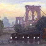 Brooklyn Bridge Sunset, July 2015