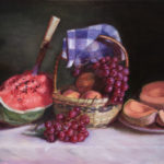 Watermelon and Fruit Still Life