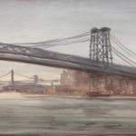 Williamsburg Bridge, Grey Day