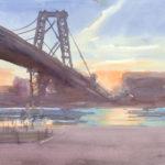 Williamsburg Bridge Sunrise