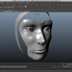 Female Head, WIP, Maya
