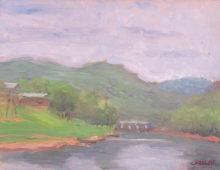 White River, Grey Day