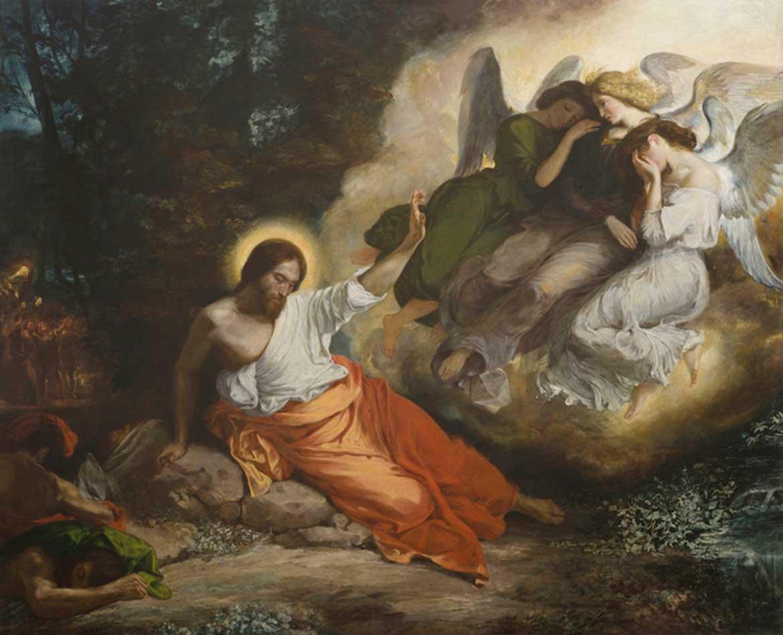 delacroix christ garden of olives - Eugène Delacroix exhibition at the Metropolitan Museum of Art